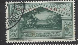 Italia - Tripolitania - 1934 - Usato/used - Virgilio - Sass N. 80 - Tripolitaine