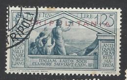 Italia - Tripolitania - 1934 - Usato/used - Virgilio - Sass N. 84 - Tripolitaine