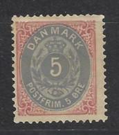 Danimarca - 1875 - Nuovo/new MH - Ordinari - Mi N. 24 - Ongebruikt