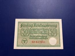 GERMANY - 50 REICHSPFENNIG - CREDIT TREASURY NOTE - ND(1940-1945)) -UNC-  - PICK: R135 - [ 4] 1933-1945: Derde Rijk