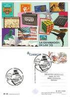 SPAIN. POSTAL STATIONARY FIRST DAY.   GENERATION OF THE 70. 2017 - Sin Clasificación