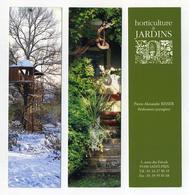 Lot De 2 Marque-page : Horticulture Et Jardins. Réalisations Paysagères Risser à Saint-Prix (95) - Bookmarks