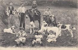 LOURDES: Un éleveur De Chiens De Montagne (groupe  D'enfants, Chiens, ânes) - Lourdes