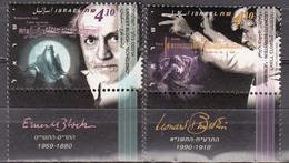 Israel 1995 Ernest Bloch/Leonard Bernstein Michel 1324-25 MNH 26430 - Musique