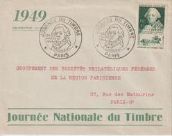 France FDC 1949 Journée Du Timbre Paris 828 - ....-1949
