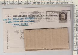NAPOLI  STORIA POSTALE PUBBLICITARIA 1937 CAV. RONDINELLA - 1900-44 Victor Emmanuel III
