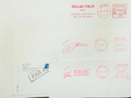 Italy, Iron And Metals - 6 Meter Cancels - Sollac - Fabbriche E Imprese
