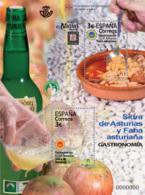 España. Spain. 2020. HB. Gastronomía D. O. Protegidas De Asturias. Sidra. Fabada - 1931-Heute: 2. Rep. - ... Juan Carlos I