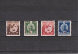 JAPON 1939 No 291/ 294  NEUF - Neufs