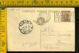 Regno Annullo A Targhetta Bergamo Poste Propaganda Postale - Poststempel