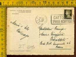 Regno Annullo A Targhetta Cattolica Spiaggia Incantevole - 1900-44 Victor Emmanuel III