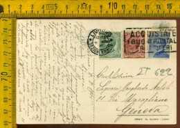 Regno Annullo A Targhetta Livorno Poste Propaganda Postale - Poststempel