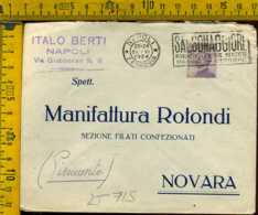 Regno Annullo A Targhetta Napoli Terme Di Salsomaggiore - Poststempel