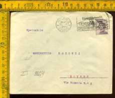 Regno Annullo A Targhetta Milano Ettore Moretti - Poststempel