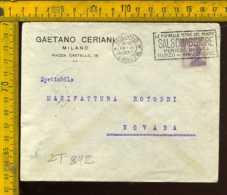 Regno Annullo A Targhetta Milano Terme Di Salsomaggiore - Poststempel