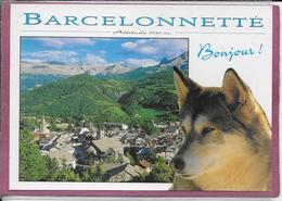 04.- BARCELONNETTE - BONJOUR - Barcelonnette