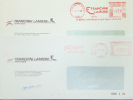 Italy, Iron And Metals - Meter Cancel - Franchini Lamiere - Fabbriche E Imprese