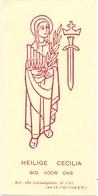Devotie - Devotion - Heilige Cecilia - Santini