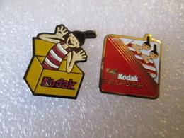 PIN'S    LOT 2 KODAK - Fotografie