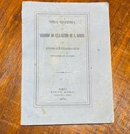 1870 Livro Biographico VISCONDE De VILARINHO De S.ROMÃO Antonio Ferreira Girão (Sabrosa / Vila Real) Biografia PORTUGAL - Livres, BD, Revues