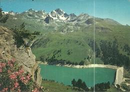 (AUSSOIS )( 73 SAVOIE ) BARRAGE .PLAN D AMONT.LE DENT PARACHEE - Altri Comuni