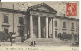 PRIVAS  (  ARDÈCHE)   LE PALAIS DE JUSTICE - Privas