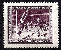 1925 Football MH  Mi.409 Some Black Paper On Back (224) - Hongrie