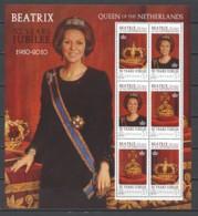 Grenada 2010 MNH Sheet - QUEEN BEATRIX - 30 YEARS JUBILEE - Royalties, Royals