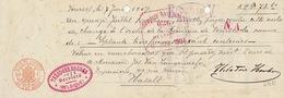 Document Cuir Theodore Houben à Verviers - Belgio