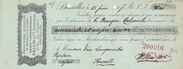 Document Papeterie Bureau Classe Vangrinderbeek Willems à Bruxelles - Belgio