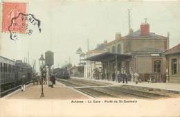 ACHERES    La Gare , Foret De St Germain - Acheres