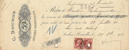 Document Imprimerie Encres Orientales Bouhon - Belgio