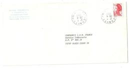 Lettre Obliteration Recette Urbaine Le Havre P Pal B (76) Sur Liberté De Gandon - 1961-....