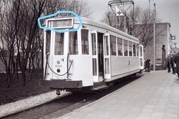 PHOTO  TRAM OOSTENDE KNOKKE LIJN 1 KUST REPRO - Tramways