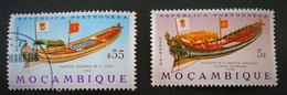MARINE ANCIENNE 1964 - OBLITERE + NEUF * - YT 513 + 517 - Mozambique