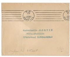 PARIS Oblitération Mécanique P.P. PARIS 125 (rue De La Douane) 1938....G - Marcophilie (Lettres)