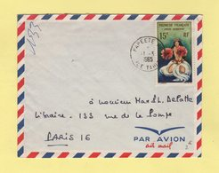 Polynesie - Papeete - Ile Tahiti - 11-3-1965 - Polynésie Française