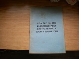 WW II Anti- Allies Propaganda   Judaica Bolshevism,anti Mason RRR Sta Sam Video I Doziveo Medju Partizanima U Bosni I CG - 1939-45