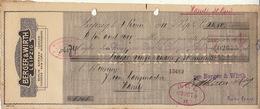 Document Imprimerie Encres Berger Et Wirth Leipzig - 1900 – 1949