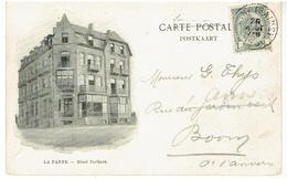 LA PANNE - Hôtel Teirlinck - Les Villas - Fl. Bartier , Ypres - Publiciteit - Publicité - Warbung - De Panne