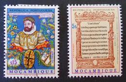 LUIS DE CAMOENS 1969 - OBLITERE + NEUF * - YT 544 + 548 - Mozambique