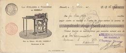 Document Imprimerie Les Ateliers Et Fonderie De Hasselt - 1900 – 1949