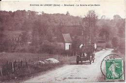 61 Environs De LONGNY - BROCHARD - La Scierie Et Les Bains - Automobile - Otros Municipios