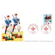 FDC LNF - Croix Rouge - 9/11/2000 Paris - FDC