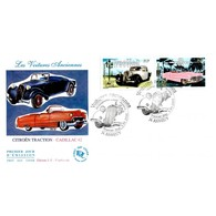 FDC JF - Voitures Anciennes. Citroën Traction Et Cadillac 62- 5/5/2000 Annecy - 2000-2009
