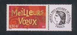 3623 Aa - Meilleurs Voeux  La Paire Avec Cérès France Et Les Timbres Personnalisés - 2003 - Personalizzati