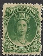 Nova Scotia   1860   Sc#11   8 1/2c   MH   2016 Scott Value $15 - Unused Stamps
