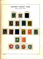 SAXONY SAXE SELECTION LH CHARNIERE OR USED - Saxe