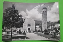 Cartolina - Recoaro Terme - Piazza Dolomiti E Chiesa Parrocchiale  - 1961 - Vicenza