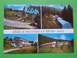 Cartolina - Casa Di Vacanza La Baita - Aosta - 1975 - Italia